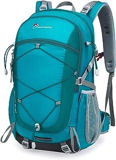 Mochilas Senderismo 40 litros Alta Capacidad Impermeable Hombre Mujer Escalada Deporte Morral con Cubierta De Lluvia para Viajes Acampadas