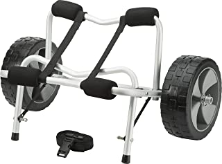 Attwood 11930-4 Kayak and Canoe Cart, Large-Diameter Wheels, No-Deflate Tires, Carries Up to 100 Pounds