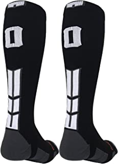 custom number football socks