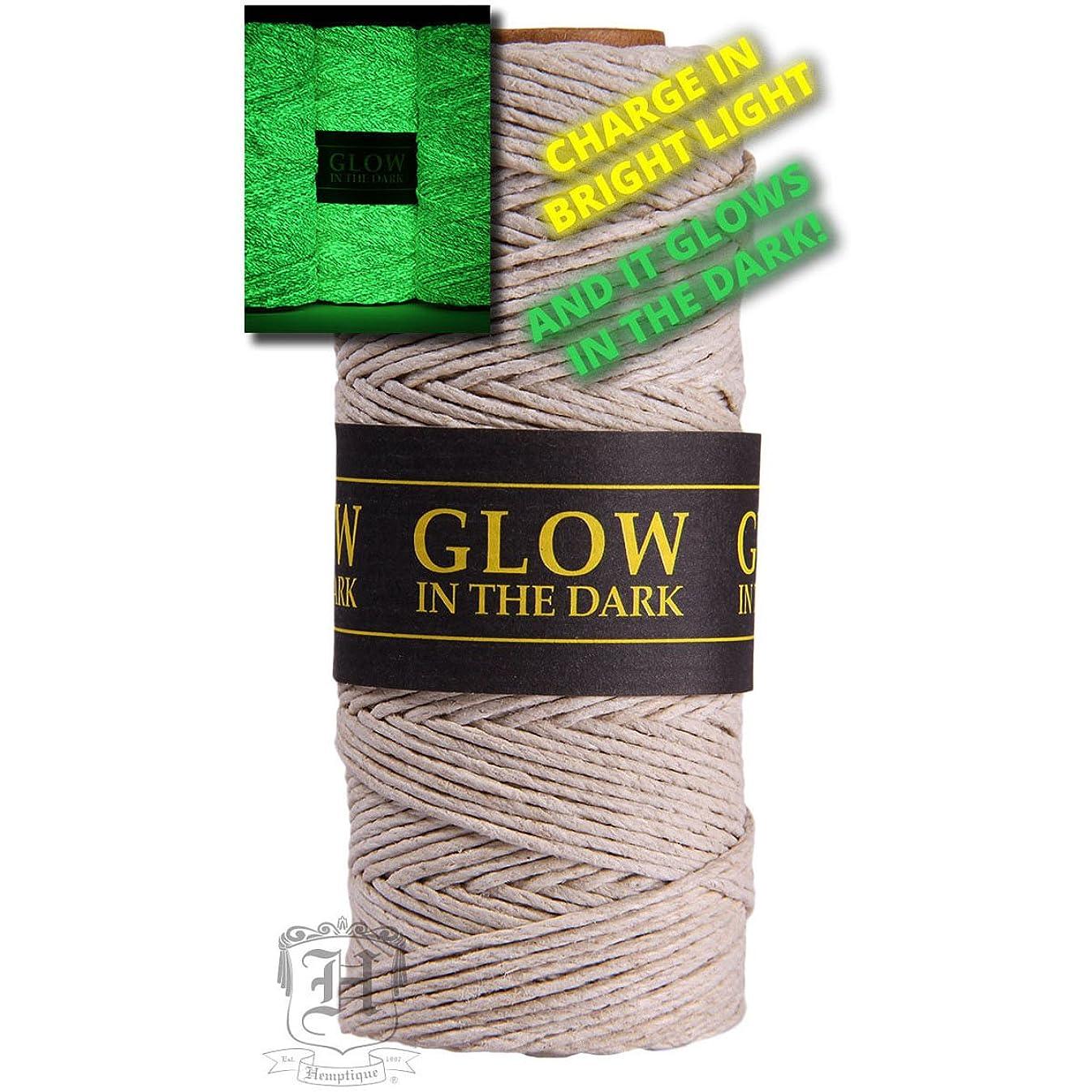 Hemp Cord 20lb 205'-glow In The Dark