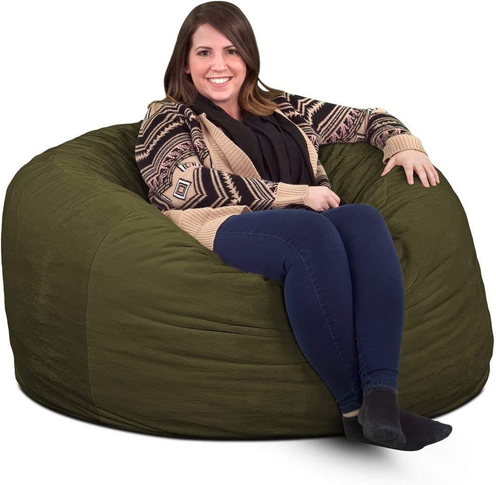 Max 52% OFF ULTIMATE SACK 4000 4 Ft. Bean Giant Foam-Filled Fur Bag Chair: Excellence