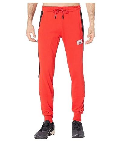 PUMA Avenir Graphic Sweatpants (High Risk Red) Men