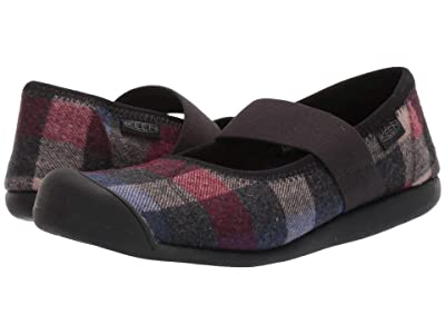 Keen Sienna Mary Jane Plaid (Multi/Black) Women