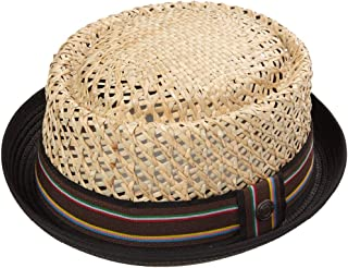 Dasmarca Jake Natural Mar zacate Paja Verano Porkpie Sombrero