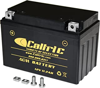 CALTRIC AGM BATTERY compatible with HONDA VT750DC VT-750DC Shadow Spirit 750 2001-2003 2005-2007