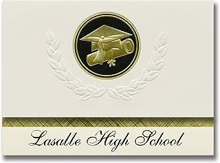 Signature Announcements Lasalle High School (St Ignace, MI) Graduation Announcements, Presidential style, Elite package of...