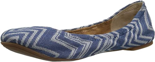 Lucky Brand Woherren Emmie Ballet Flat, Moonlight Denim, 9 Medium US