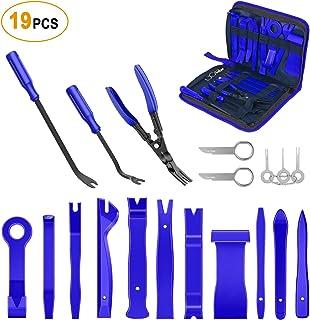 GOOACC - GRC-49 Conjunto de ferramentas de remoção de acabamento e alicate removedor de estofados de nylon conjunto de rem...