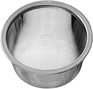 Happy Sales HSRPTI25, Japanese Teapot Replacement Stainless Steel Mesh Strainer Infuser 2.5