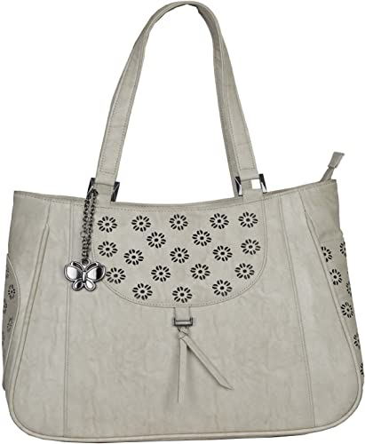 Women Handbag Cream BNS 0675CRM