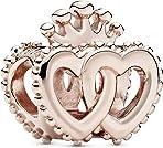 Pandora Women's Bead Charms Gold-Plated 787670