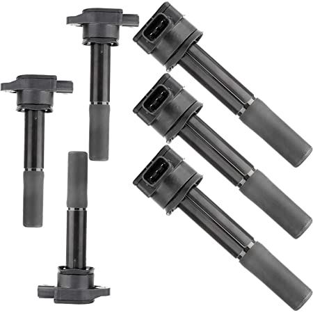 OCPTY Ignition Coils Pack Set of 6 Fit for Mitsubi-shi Endeavor Galant 3.8L C1505 UF481