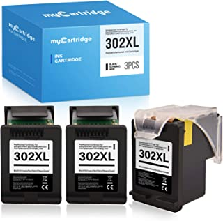 MyCartridge Compatible para Cartuchos de Impresora HP 302 XL 302XL para Impresora HP Envy 4520 4525 4527 Officejet 3830 3831 3833 4650 4654 5230 Deskjet 1110 3630 3636 3639 Eco Cartucho (3 Negro): Amazon.es: Electrónica