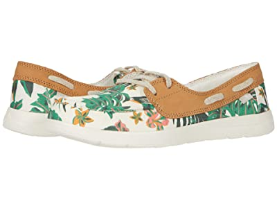 Sanuk Pair O Sail Lite Floral (White) Women