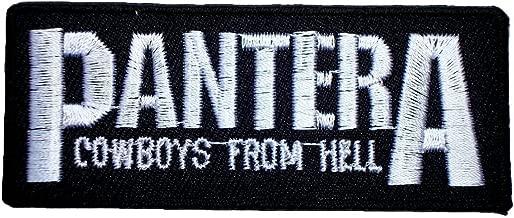 PANTERA Thrash Metal Band t Shirts Logo MP28 applique iron on Patches