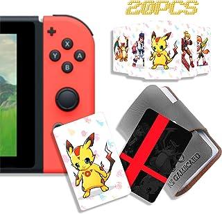 20 carte NFC Tag gioco per Super Smash Bros Ultimate (SSBU), compatibili per Switch/Wii U/3DS XL con supporto portatile in...