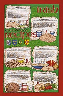 Samuel Lamont Group McCaw Allan Irish Recipes Linen Union Tea Towel