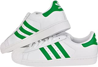 adidas Originals Superstar 2 II W Sneaker Scarpe Uomo Taglie Forti Bianco Verde