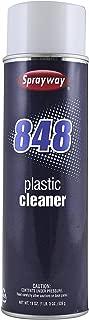 Sprayway SW848 Aerosol Plastic Cleaner, 19 oz
