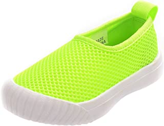 PPXID Boys Girls Mesh Slip On Loafers Casual Shoes Running Sneaker