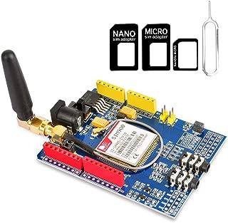Gowoops Quad-Band GSM GPRS SIM900 Shield Development Board for Arduino Uno