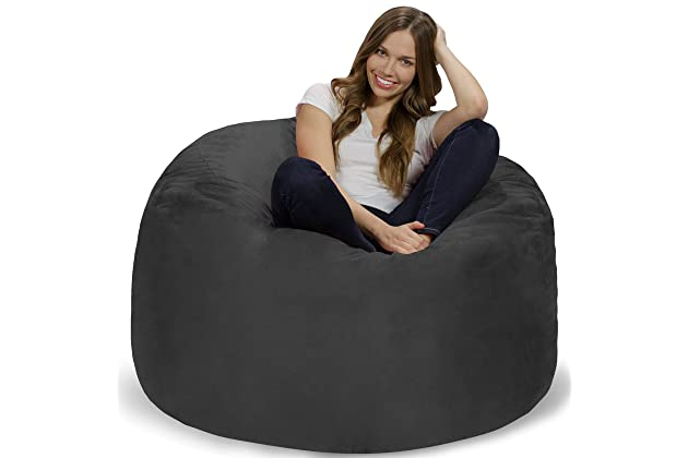 Super Best Giant Bean Bag Chairs For Adult Amazon Com Dailytribune Chair Design For Home Dailytribuneorg