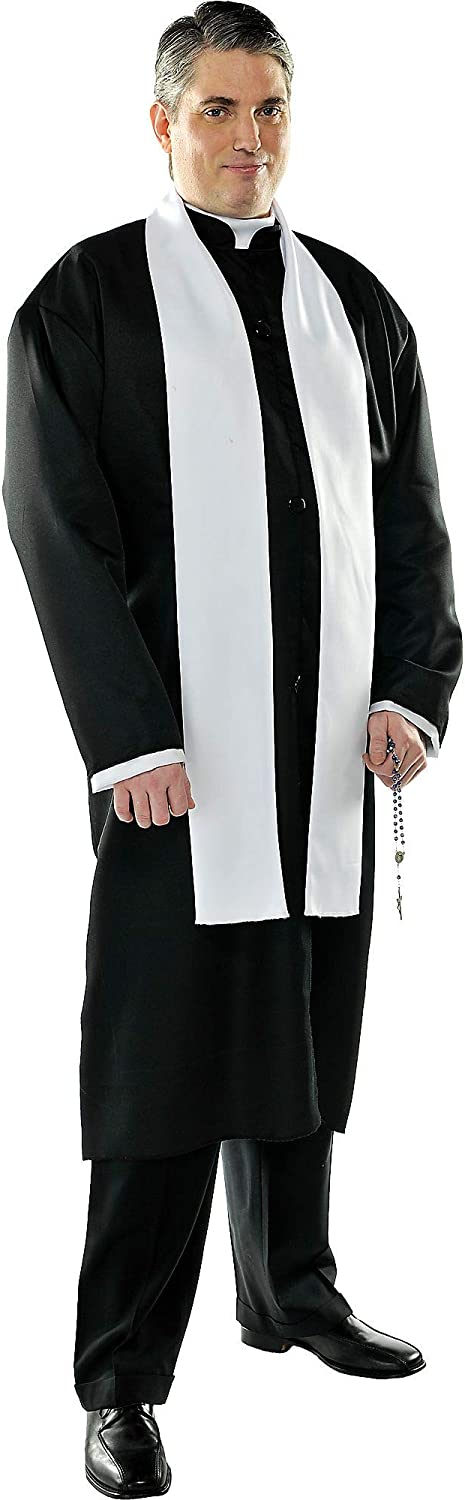 amscan Father Adult Priest Costume
