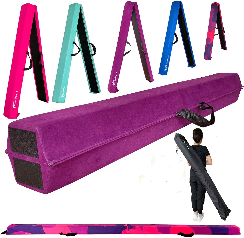 MARFULA 6 FT 8 9 Folding Beam Foam 新発売 捧呈 Gymnastics Balance