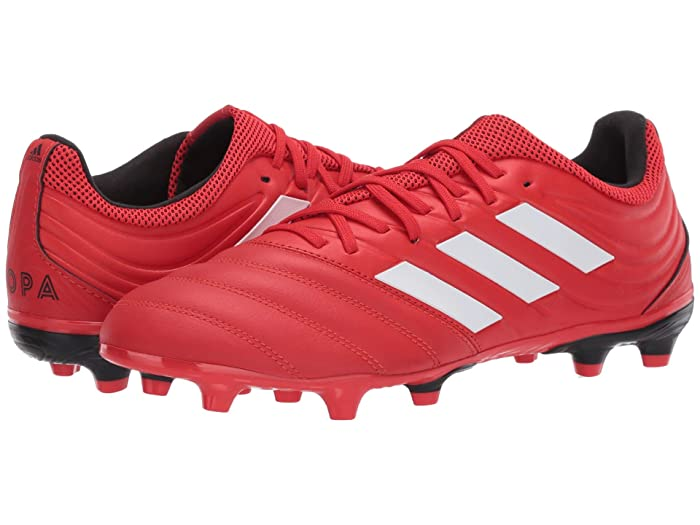 adidas  Copa 20.3 FG (Active Red/Footwear White/Core Black) Mens Shoes