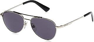 نظارات شمسية للجنسين من ديزل - لون بالاديوم لامع /دخاني معدني - DL029116A50