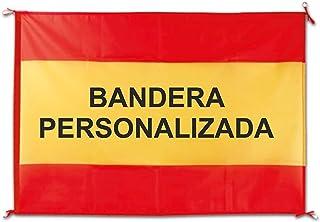 QCM Bandera España Balcon 100x70 cm Personalizada