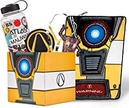 $55 » Sponsored Ad - Official Borderlands LookSee Collector Mystery Gift Box - Includes Claptrap Blanket, Lanyard, Water Bottle,...