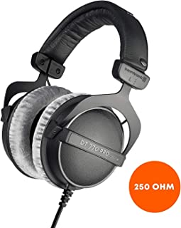 Beyerdynamic DT770 PRO - Auriculares de diadema Cerrados 250 ohm, negro