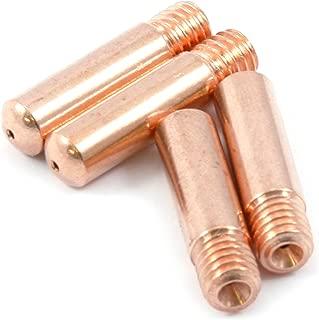 Forney 60171 Contact Tip For Mig Welding, Tweco Binzel or Clarke, .030, 4-Pack
