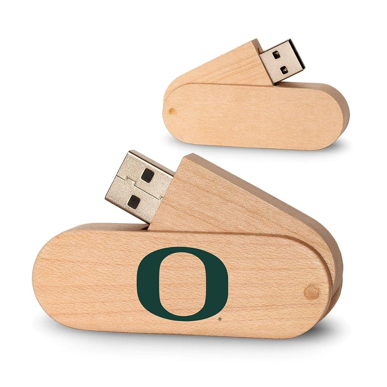 Keyscaper NCAA Unisex Wood Twist USB Drive