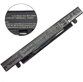 A41-X550A A41-X550 EXA1202YH Batería de computadora portátil para ASUS A450 A550 F450 K450 K550 X450 X550CA X751M GL550VW X550LC-XX056H-BE R510C X550VC X450CC R510JX-DM225T 0B110-0023040(15V 44Wh)