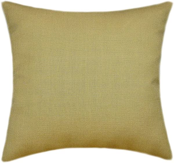 Sunbrella Sailcloth Spice Indoor Outdoor Pillow 14x14 Small