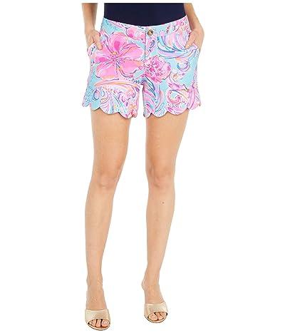 Lilly Pulitzer Buttercup Knit Shorts (Multi Isla De Coco) Women