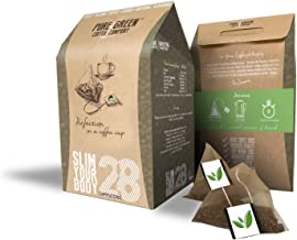 Pure Green Skinny Coffee 28 Day Detox Program Help with Weight Loss and Also a Fat Burner Natural Appetite Suppressor Cappuccino Flavour Visible Results Fast Great as a Pre-Workout Energy Drink Estimated Price : £ 15,90