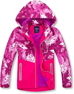 youth girl raincoat