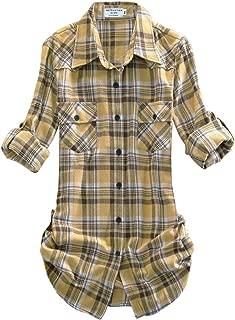 Best tan plaid shirt womens Reviews
