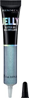 Rimmel London Jelly Glitter Gel, Water Based Bounty Formula with Easy Application and Shimmering Touch, 100 Froes (White),...