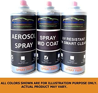Auto Paint Depot Touch Up Paint for Cadillac CTS-Black Diamond Tricoat WA815T/GLK (All Years, All Models) Aerosol Spray with Clear Coat