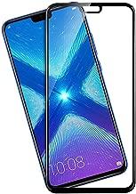 Dashmesh Shopping® 3D Tempered Glass ShatterProof (Full Body Glue) (Edge to Edge) Screen Protector for Honor 8X (Black)