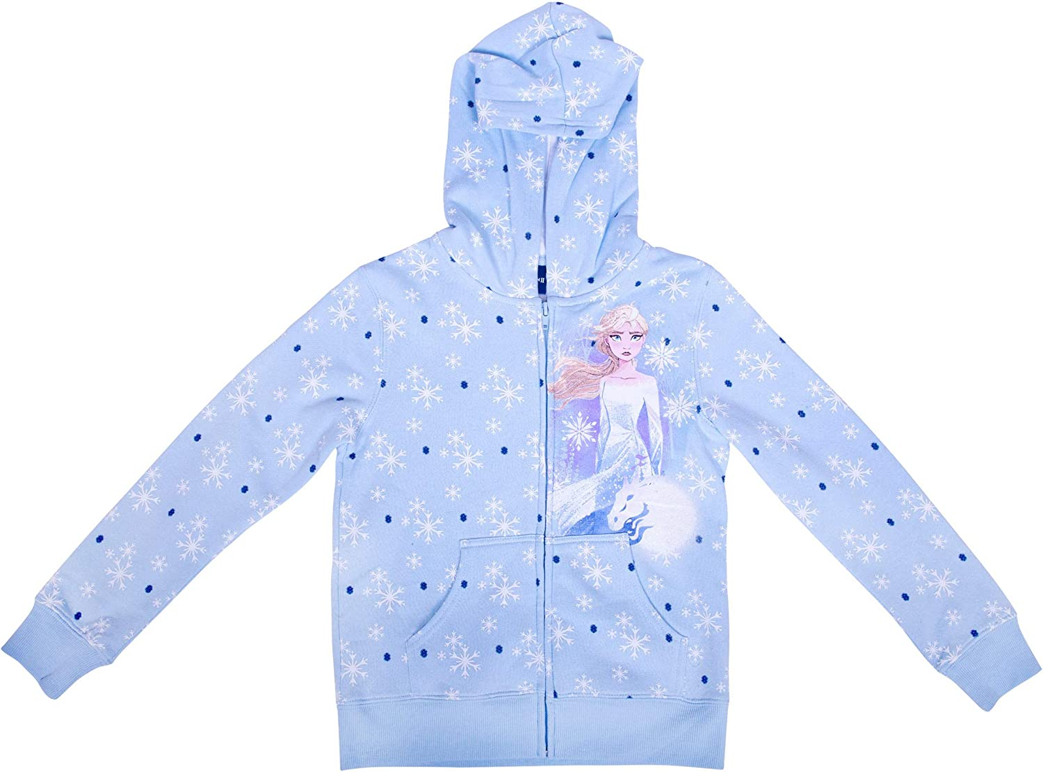 Jerry Leigh Frozen 2 Youth Zip Up Hoodie