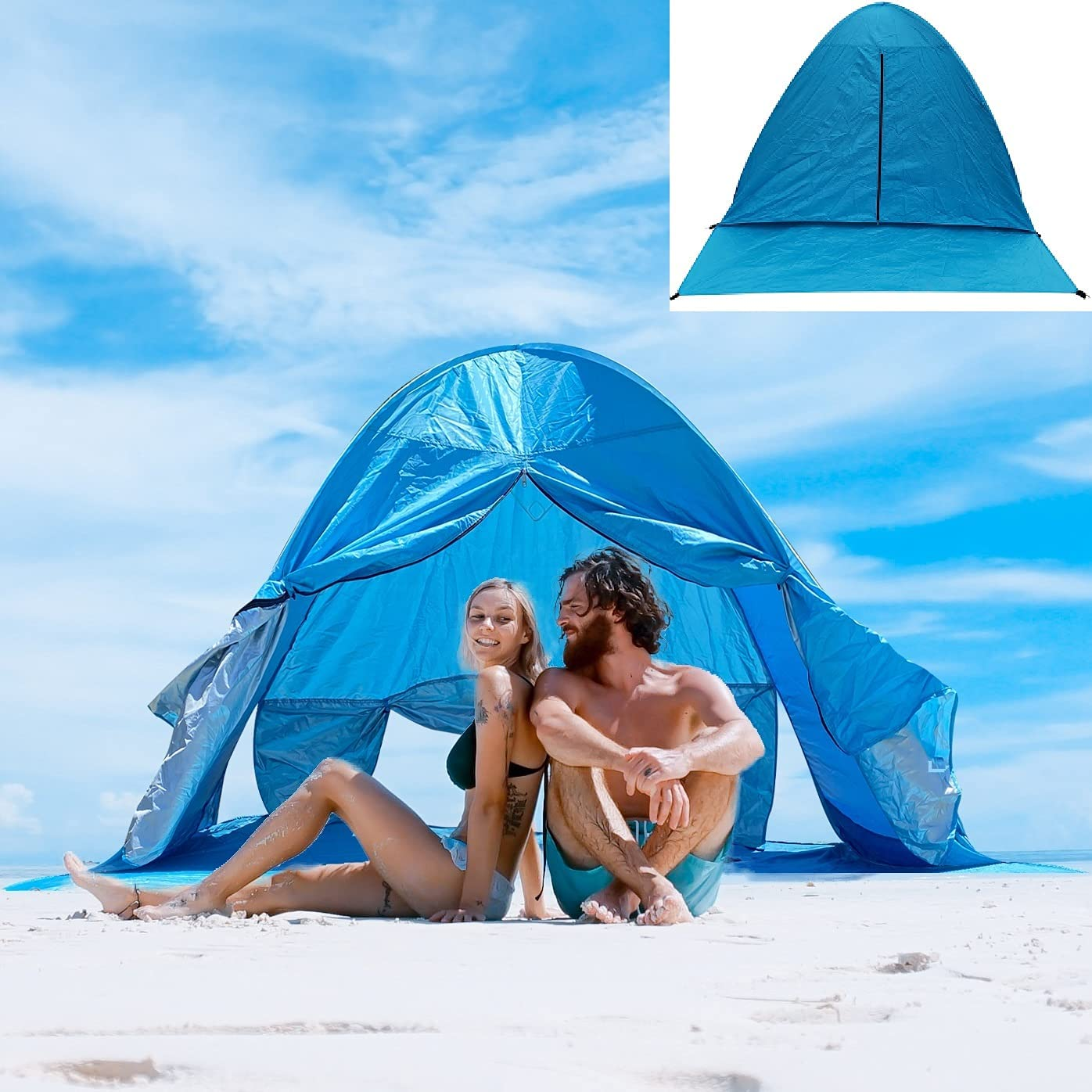 Pop Up Beach Tent Easy Cash special price Setup Sun 50+ Pro UV 3-4 UPF Special price for a limited time Person Shade