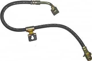 Pro Braking PBK9990-TBL-BLU Front//Rear Braided Brake Line Transparent Blue Hose /& Stainless Blue Banjos