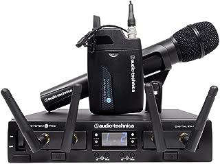 Audio-Technica System 10 Pro Digital Wireless Digital Lavalier/Handheld Combo (ATW-1312/L)