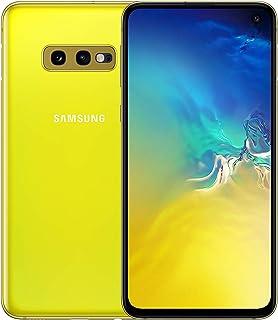 Samsung Galaxy S10e 128GB SM-G970F Hybrid/Dual-SIM Factory Unlocked 4G/LTE Smartphone - International Version (Canary Yellow)