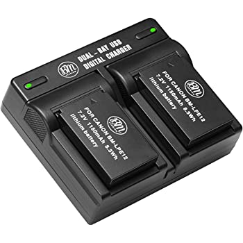 Trade-shop bateria 7,2v 800mah para Canon EOS 100d m m2 m10 m50 m100 reemplaza lp-e12